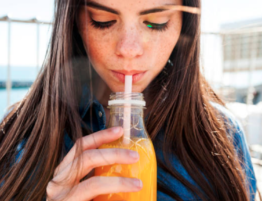 Bebidas y salud oral